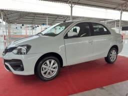 Toyota Etios Sedan X Plus 1.5 Automático Apenas 10.000 Km Sem Detalhes