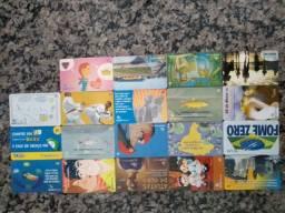 Cartões Telefônicos - séries variadas