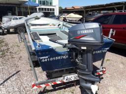 Barco levefort modelo marfin 5 metros 160 de boca Yamaha 25hp