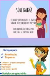 Ofereço serviço de babá e doméstica