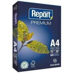 Papel Sulfite A4 Report Premium 75g caixa com 5000 Folhas
