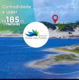 Lotes Financiados a 3 Minutos da Praia das Fontes,Agende Sua Visita!!