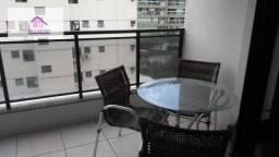 Apartamento 3 quartos mobilhado, elevador e área de laser com piscina