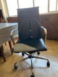 Cadeira Presidente Escritorio Encosto Lombar