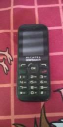 Vendo um celular simples marca Alcatel