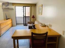 Apartamento Flat com 1 dormitório à venda, 40 m² por R$ 340.000 - Meireles - Fortaleza/CE