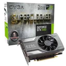 Placa Vídeo Nvidia Geforce Gtx 1060 3gb Gddr5 Evga 192bits