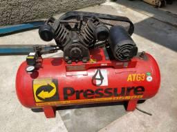 """Compressor 20 Pés PRESSURE """"Revisado"""""""