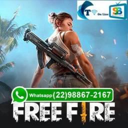 Recargas Free Fire direto pela ID