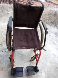 Cadeira roda usada boa leia a baixo