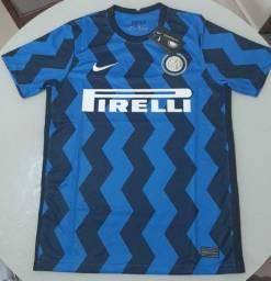 Camisa inter de Milão nova 2020-21