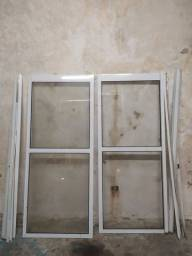 Porta corredissa de vidro barato