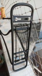 Bagageiro bicicleta alumínio leve original Caloi Urbam