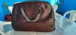 Bolsa/mala de Viagem ( Marrom) - Nova