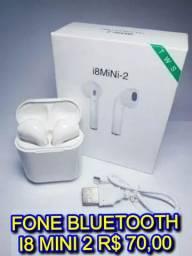 Fone bluetooth I8 mini