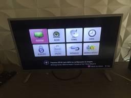 Vendo tv lg 32 polegadas branca led não é smart