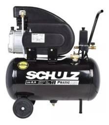 Motocompressor De Ar Pratic Air 25l Csi Plus 8,5 Pés Schulz