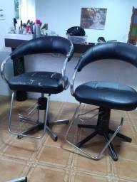 Cadeira hidráulica de salão para reforma