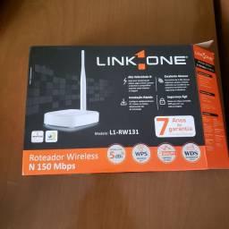 Roteador Link one - pouco usado