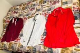 3 camisas sociais por 90 reais