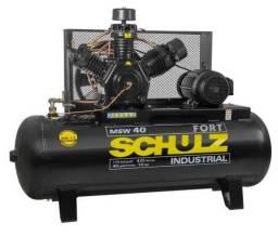 Compressor 40 pés Schulz MSW40FORT 425 Litros