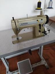 Maquina de costura industrial Singer 021D reta e zigzag