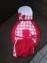 Kit conzinheira baby 1 ano já 2 anos