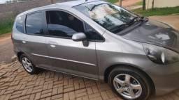 Honda Fit 2007 manual - seguro pago até 09/2021