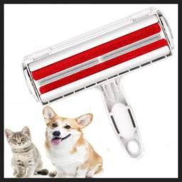 Escova removedora de pelos cães e gatos