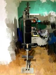 Multi estação de musculação residencial