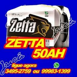 Bateria Zetta 50 ah compre e ganhe brindes