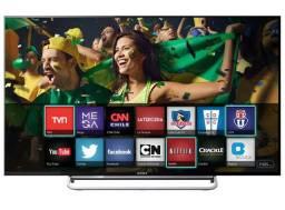 Tv sony 32 smart w605a ,display quebrou , sem fonte $ 110.00