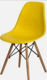 Cadeiras com design moderno