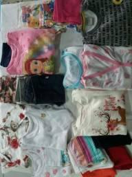 Roupas de bebê (menina) de qualidade, pouquíssimo uso e super bem cuidadas.