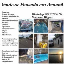Vende Pousada Aruanã