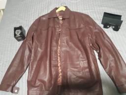 Jaqueta de couro de alta qualidade
