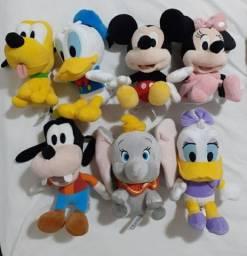 Coleção de pelúcia Disney Original.