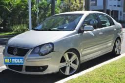 VW Volkswagen Polo Sedan 2009 1.6 Todo Revisado Único Dono Rodas Aro 17