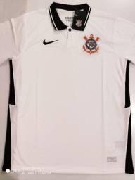Camisa Corinthians Home Nike 20/21 - Tamanhos: P, M, G, GG