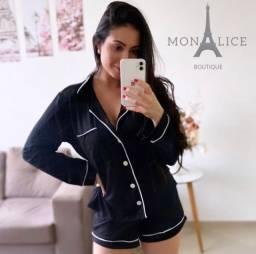 Pijamas Inglês Monalice roupa feminina