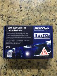Lâmpadas de LED 6000k H11 com canceller - Novo