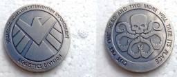 Moeda comemorativa Agentes da Shield