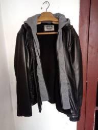 Casaco de couro preto da Levis original importado de New York, sem nehum defeito