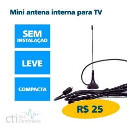 Mini Antena interna para canais abertos