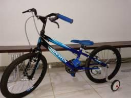 Bicicleta Houston Trup-Aro 20 Azul Fosco Masculina Infantil