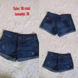 Short Jeans Ellus tamanho 36