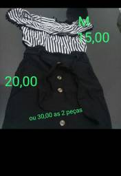 Saia e blusinha