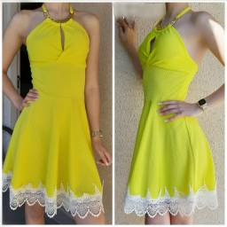 Vestido amarelo
