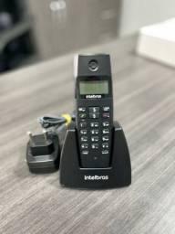 Telefone sem fio Intelbras com Direct TS 40 ID e identificador de chamadas - Cor preto