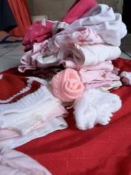 Pacote de roupas para bebê recém-nascido